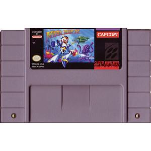 Mega Man X - SNES Game cartridge