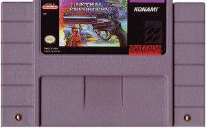 Lethal Enforcers - SNES Game