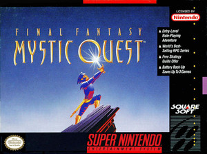 Final Fantasy Mystic Quest - SNES Game