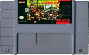 Donkey Kong Country 2 - SNES Game Cartridge