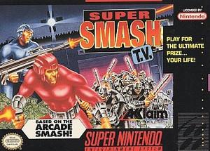 Super Smash T.V. - SNES Game