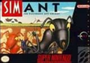 SimAnt - SNES Game