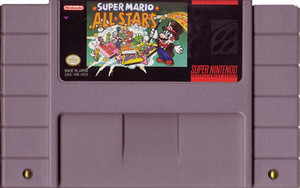 Super Mario All-Stars - SNES Game cartridge