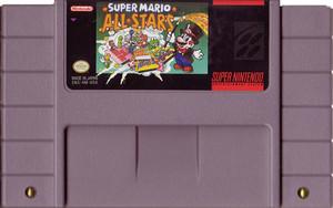 Super Mario All-Stars - SNES Game cartridge