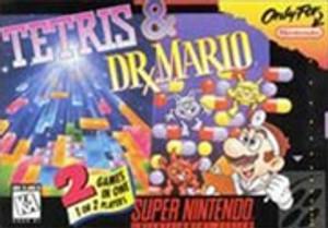 Tetris & Dr. Mario - SNES Game