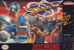 Sonic Blast Man - SNES Game