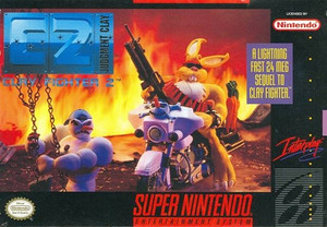 C2:Judgment Day - Clay Fighter 2- SNES Game