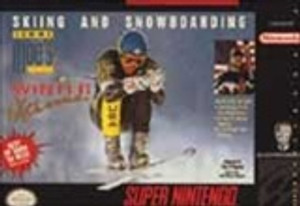 Tommy Moe's Winter Extreme - SNES Game