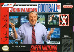 John Madden Football '93 - SNES Game