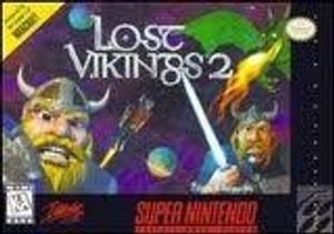 Lost Vikings 2 - SNES Game