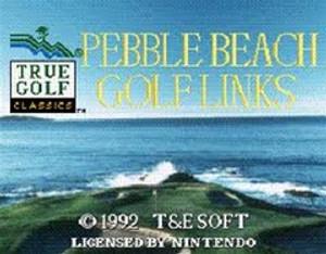 Pebble Beach Golf Links - SNES Game