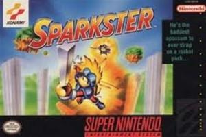 Sparkster - SNES Game