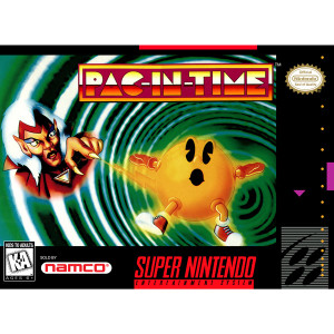 Pac-In-Time - SNES Game