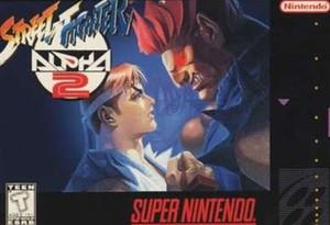 Street Fighter Alpha 2 - SNES Game