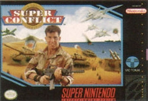 Super Conflict - SNES Game