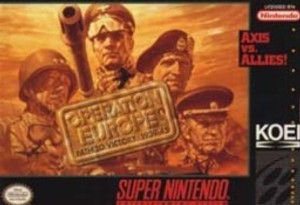 Operation Europe Path To Victory 1939-45 - SNES Game