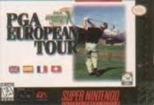 PGA European Tour - SNES Game