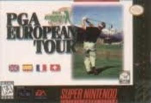PGA European Tour - SNES Game