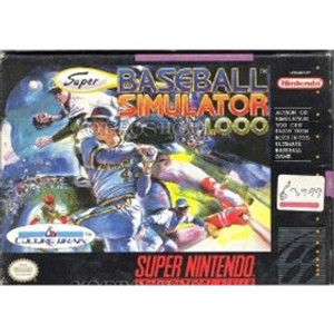 Super Baseball Simulator 1.000 - SNES Game