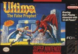 Ultima:The False Prophet - SNES Game