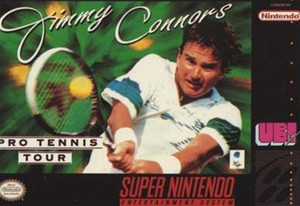 Jimmy Connors Tennis - SNES Game