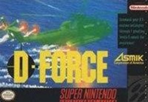 D-Force - SNES Game