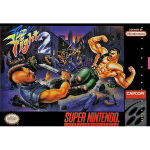 Final Fight 2 - SNES Game Box Art