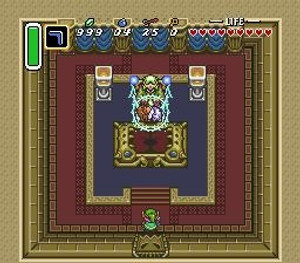 Legend of Zelda A Link To the Past - SNES Game