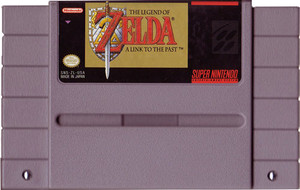 Legend of Zelda A Link To the Past - SNES Game Cartridge