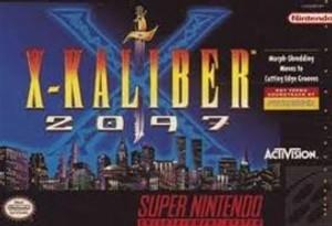 X-Kaliber 2097 - SNES Game