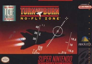 Turn and Burn No Fly Zone - SNES Game