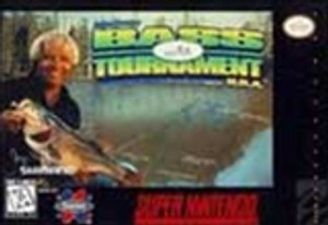 Jimmy Houston's Bass Tournament USA - SNES Game