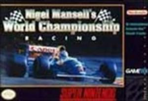Nigel Mansell's World Championship - SNES Game