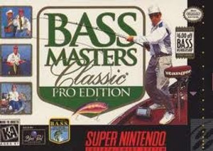 Bass Masters Classic Pro Edition - SNES Game
