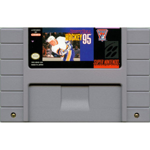 Brett Hull Hockey 95- SNES Game