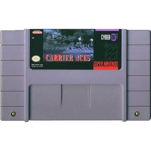 Carrier Aces - SNES Game