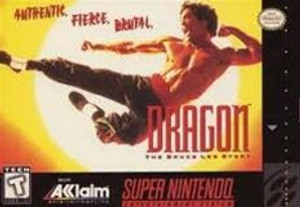 Dragon The Bruce Lee Story - SNES Game