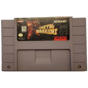 Metal Warriors - SNES Game Cartridge
