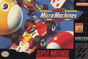 Micro Machines - SNES Game