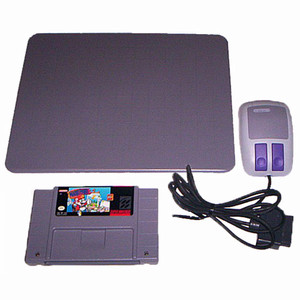 Mario Paint with Mouse and Pad - SNES Game