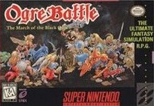 Ogre Battle March of the Black Queen - SNES Game