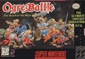 Ogre Battle March of the Black Queen - SNES Game