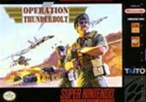 Operation Thunderbolt - SNES Game