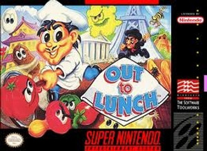 Out To Lunch - SNES Game