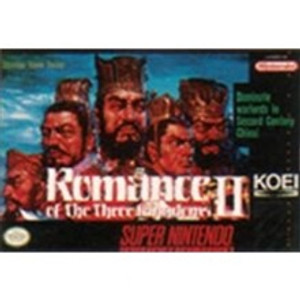 Romance of the Three Kingdoms II - SNES Game