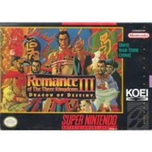 Romance of the Three Kingdoms III - SNES Game