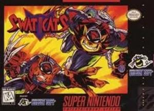 Swat Kats - SNES Game