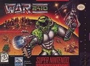 War 2410 - SNES Game