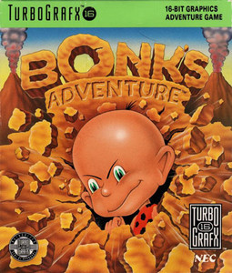 Bonk's Adventure - Turbo Grafx 16