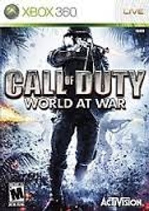 Call of Duty World at War - Xbox 360 Game